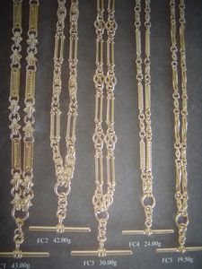 9ct Fob Chain