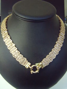 9ct Gold Mesh Necklace