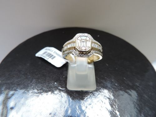 Diamond Ring 18 Carat Gold 1 10CT in Yellow Gold Diamond Rings