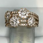 18 CARAT ROSE GOLD DIAMOND RING 1.24 CARATS RTR16055