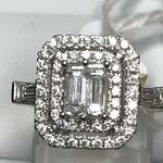 18 CARAT WHITE GOLD 1.04 CARATS RING NBLR1621474