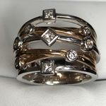 18 CARAT WHITE GOLD & ROSE GOLD 48 POINTS RTJO473