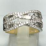 18 CARAT YELLOW GOLD DIAMOND RING 1.31 CARATS KEYR21062