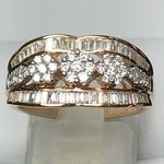 SOLID 18 CARAT ROSE GOLD 1.07 CARATS KER028385