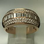 SOLID 18 CARAT ROSE GOLD 1.32 CARATS KER019849